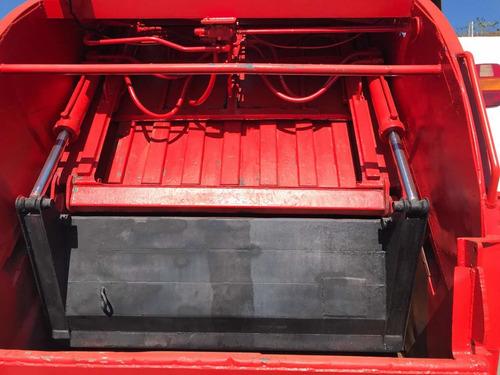 caminhão ford 1722 compactador 15 metros cubicos super novo