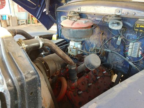caminhão ford 1947 - único dono (willys,gm,f-100,dodge,v8)