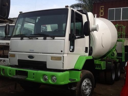 caminhão ford 2626 2002  traçado betoneira trabalhando bom