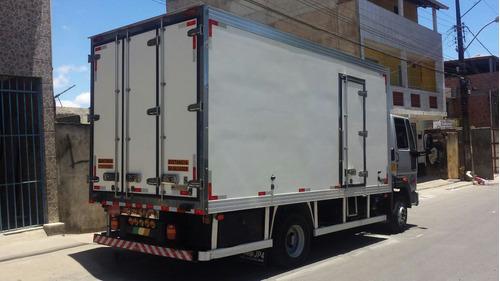 caminhão ford cargo 1119 com baú refrigerado