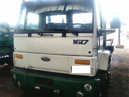 caminhão ford cargo 1617 com prancha/batatais caminhões