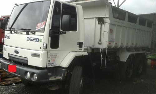 caminhão - ford - cargo - 2628 traçado - caçamba - ano 2009