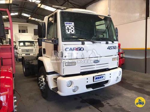 caminhão ford cargo 4532 4x2 2008 un.dono