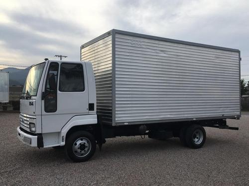 caminhão   ford   cargo   814   com    bau  ano  1999