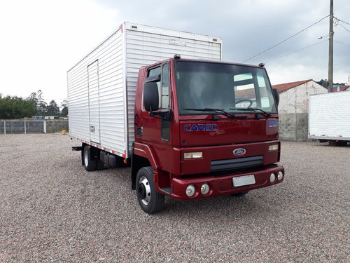 caminhão ford    cargo     815  bau
