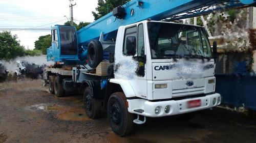 caminhão ford cargo modelo 26280 guindaste madal md300 l