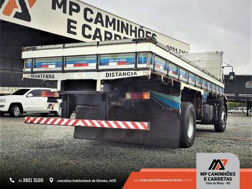 caminhão ford cargo toco 1519 carroceria de madeira