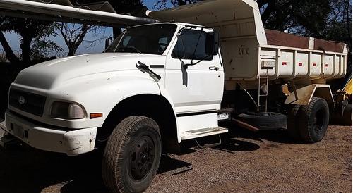 caminhão ford f-12000 basculante - 1995