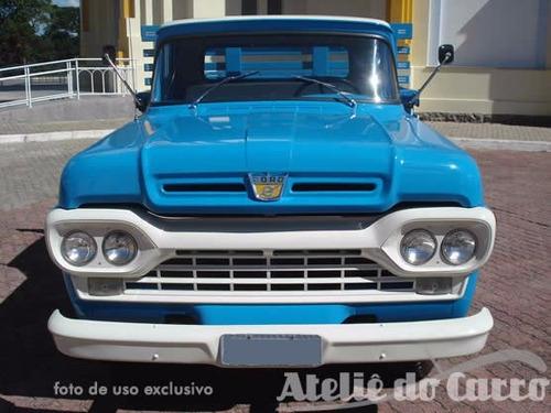 caminhão ford f-350 62 original raridade ateliê do carro