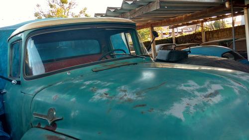 caminhão ford f 600 1959 - excelente estado - não é f 100