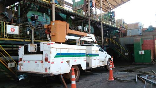 caminhão ford f12000 com cesto aéreo r$ 80.000,00