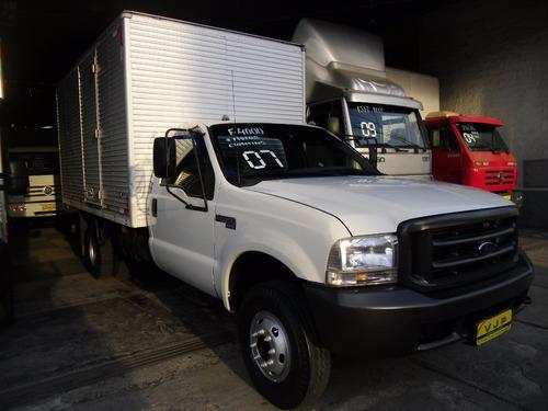 caminhão ford f4000 ano 2007 baú