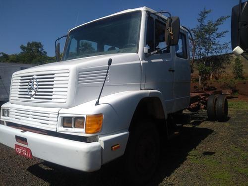 caminhão gabine dupla m.benz 1214 1996