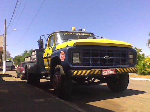 caminhão guincho ford f600