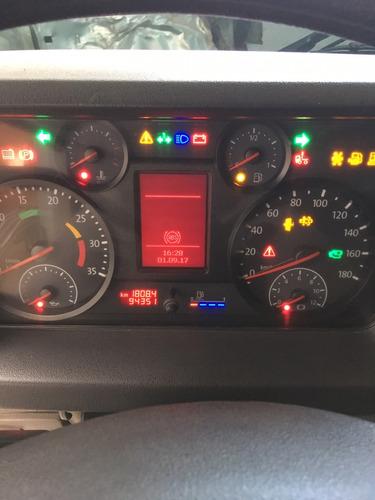 caminhão guincho plataforma aza delta remonte vw10160