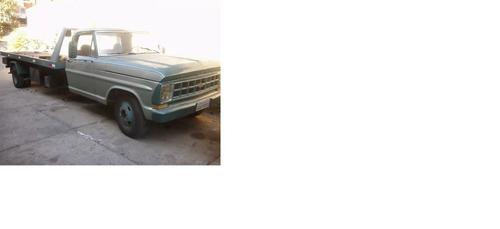 caminhão guincho plataforma ford f4000