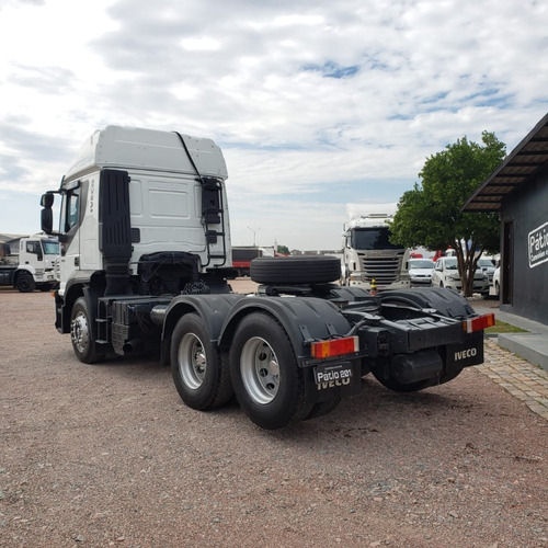 caminhão iveco strallis 380 - 2008 - 6x2 trucado