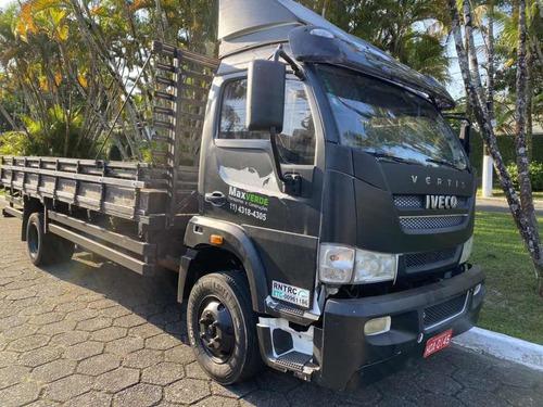 caminhão iveco vertis 90v16 carroceria 3/4