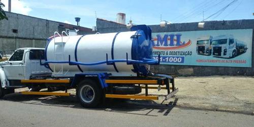 caminhão limpa fossa 8500 litros