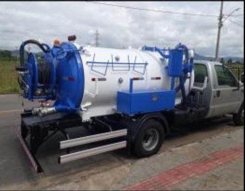 caminhão limpa fossa e hidrojato ford f4000