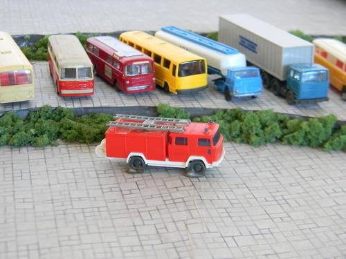 caminhão magirus deutz bombeiros n 1:160 wiking