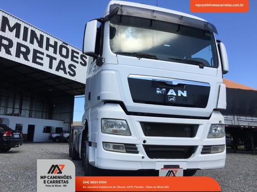 caminhão man 29 440 tgx traçado ano 2012