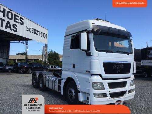 caminhão man traçado 29 440 tgx 2012