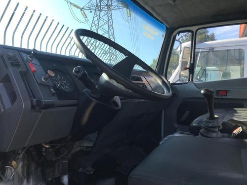 caminhão mb 1218 ano 1996 com basculante 6x2