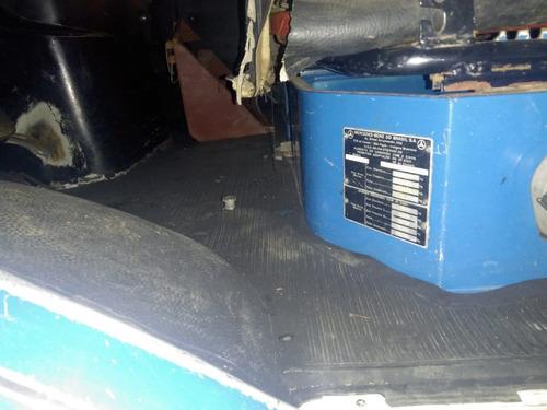 caminhão mb 1513 6x2 no chassi, km original ano 1986