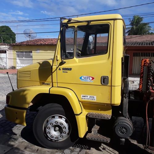 caminhão mb 1620 ano 2003 com munck argos 20ton ano 2003