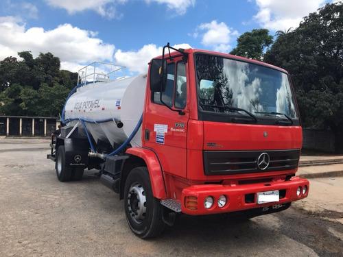 caminhão mb 1718 11/12 c/ pipa 10.000lts