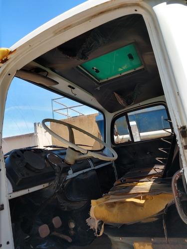 caminhão mb 2213 - ano 79 betoneira de 5 m³ c/corrente