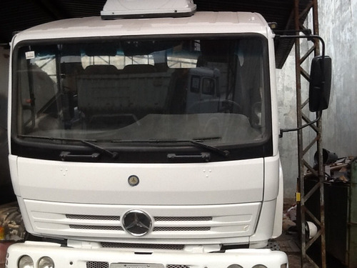 caminhão mb 2423 com betoneira usada ano 2002