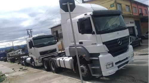 caminhão mb 2540 6x2 câmbio revisado ano 2007