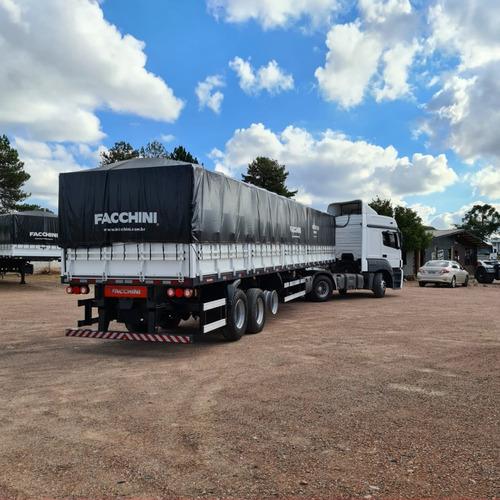 caminhão mb 2544 2015 6x2 engatado facchini graneleira 2020