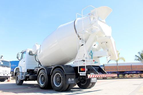 caminhão mb 2635 traçado - 1997 - betoneira convicta 8m³