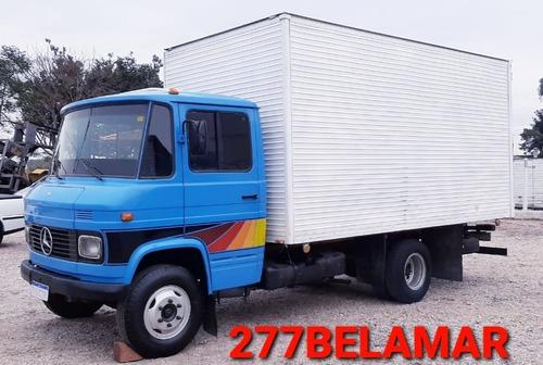 caminhão mb 608 bau 83 / 5mts aceito carro caminhão na troca