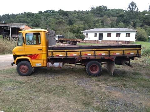caminhão mb 608 d ano 1983