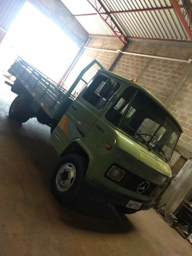 caminhão mb 708e carroceria ano 1987