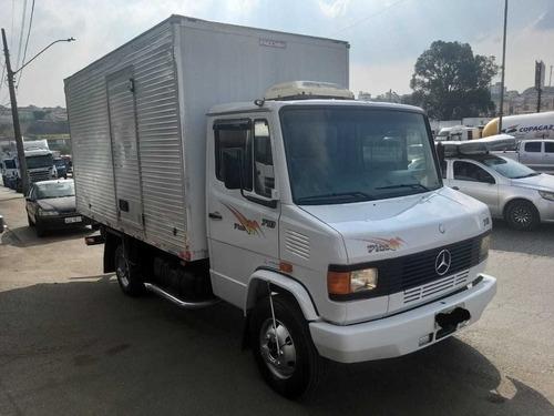 caminhão mb 710 plus bau raridade !!
