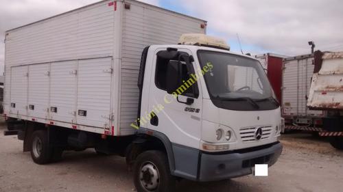 caminhão mb acello 915 acello bau  doc operacional