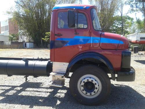caminhão mb l 1313 truck chassi