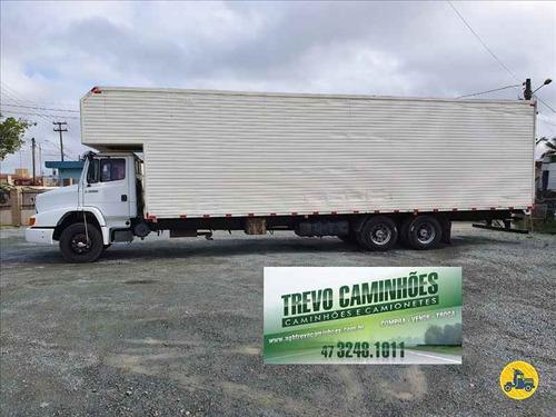 caminhão mb l 1620 com baú de 11 metros