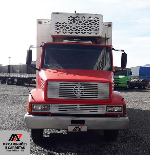 caminhão mb mercedes benz 1618- ano 1995 baú refrigerado