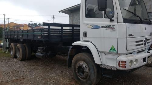 caminhão m.bens 2423 k unico dono