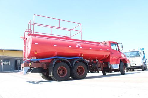 caminhão mercedes 1621 1992 com pipa 15.000 litros