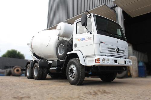 caminhão mercedes 2423 betoneira 8m³ = 3 unidades