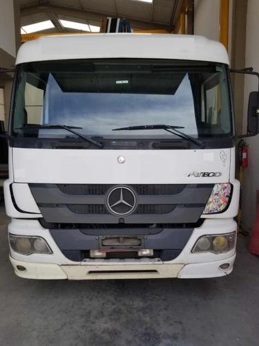 caminhão mercedes 2426 6x2 chassi com pequena entrada