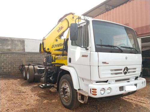 caminhão mercedes 2726 traçado 2011, com munck hyva - 2553