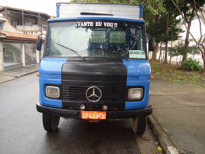 caminhão mercedes 608